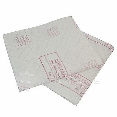 Universal Cut To Size Range/ Cooker Hood Grease Filters X 2 Red Line
