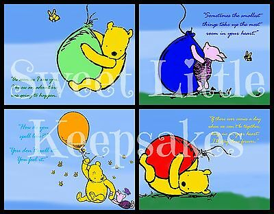 Classic Pooh & Piglet images w/ sweet quotes! Contact me w/email after ordering!