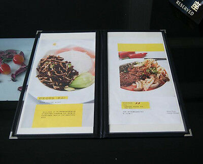 2/3A4 Bistro Menu Cover with 2 panels