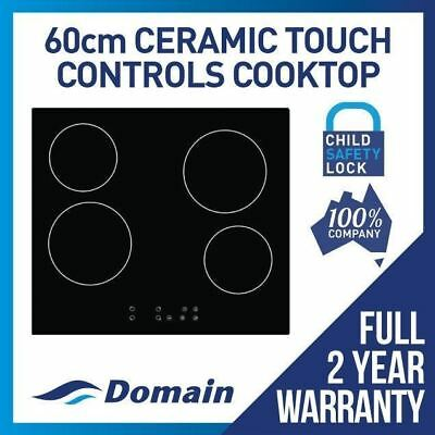 60cm CERAMIC GLASS TOUCH CONTROL ELECTRIC COOKTOP / COOK TOP / COOKER  BOXDAMAGE