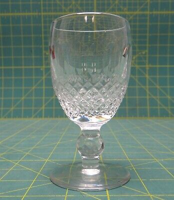 "Waterford Crystal Colleen Patterned Short-Stem Sherry Glass 4 1/4"" 2 oz"