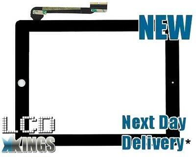 New Apple iPad 4 4G A1460 A1458 A1459 Touch Screen Digitizer Glass - Black
