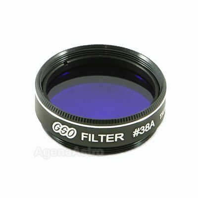 """GSO 1.25"""" Color / Planetary Filter - #38A Dark Blue"""