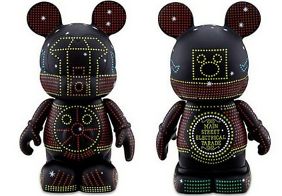 "LE Disney Vinylmation 9"" Main Street Electric Light Parade Train✿Park 7 Series"