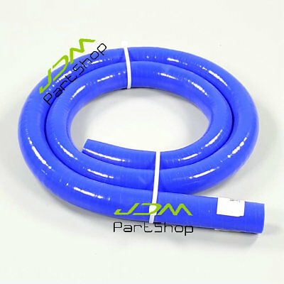"ID:10mm 3/8"" / OD:18 mm Silicone Vacuum Tube Hose Silicon Tubing BLUE 3.3ft 1M"