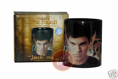 NEW MOON JACOB MUG =Taylor Lautner= NEW IN BOX twilight