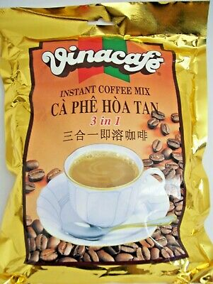 12 BAGS, VINACAFE, INSTANT COFFEE, MIX 3 IN 1 ( New )
