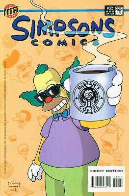 Bongo comics Simpsons #32 NM