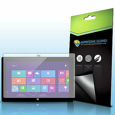 3X Ultra Clear Screen Protector Guard For Microsoft Surface Windows RT
