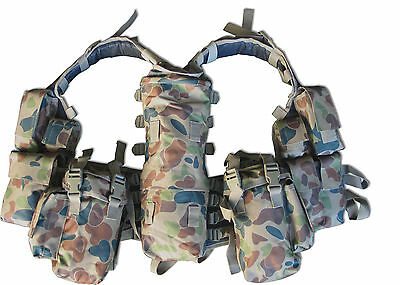 Brand New  South African Assault Vest Military Army Cadets Airsoft Hunting Gun