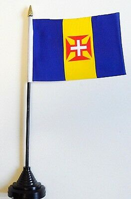 Portugal Madeira Polyester Table Desk Flag