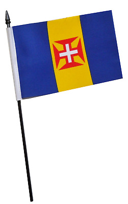 Portugal Madeira Small Hand Waving Flag