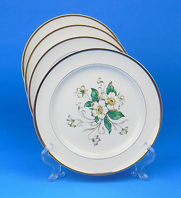 TWO Salad Plate/s, SUPERB Condition! Carolina, Edwin Knowles, #R2110