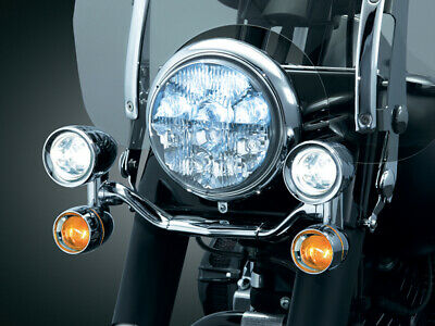 Kuryakyn Chrome Constellation Driving Light Bar 4 Metric Model
