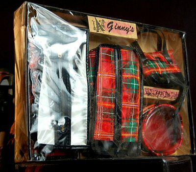 RARE NEVER OPENED 1950'S GINNY'S TRIP MATES LUGGAGE MINT IN PACKAGE!