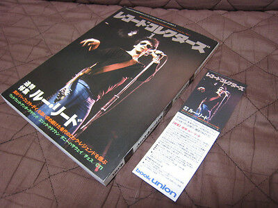 Japan Record Collectors Magazine Book Lou Reed Velvet Underground Donny Hathaway