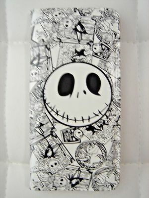 Nightmare Before Christmas Jack White Coins Pouch Bag Long Purse Wallet + CHARM