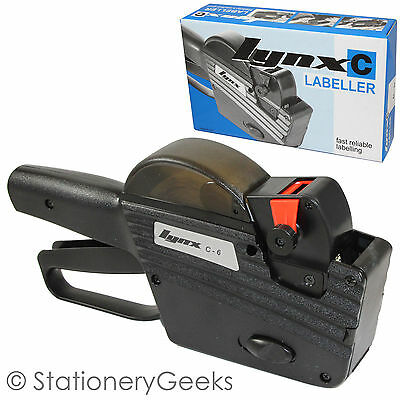 Lynx C6 6 Band 1 Line Pricing Hand Gun Price Labeller Labelling C-6 INCLUDES VAT