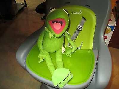 VINTAGE 1976: Kermit the Frog Fisher Price Plush Toy Jim Henson Muppet Doll #850