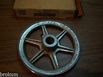 """New Lau #38260101 3/4"""" X 6"""" Blower Pulley"""
