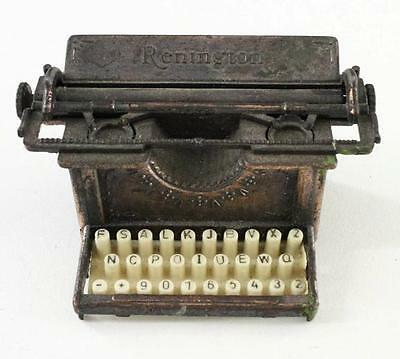 Vintage Toy Pencil Sharpener Renington Manual Typewriter