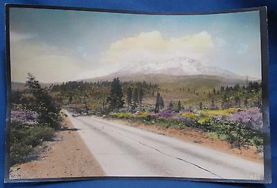 Vintage Western Landscape Colorized Early Photographer Photograph CA Photo 437