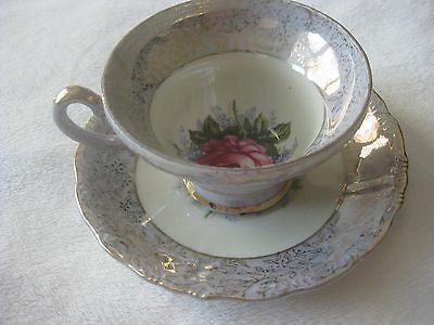 Vintage Napcoware? Tea Cup And Saucer Set