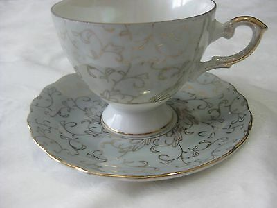 Napcoware Vintage Tea Cup And Saucer Set Marked C-6911
