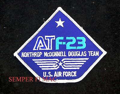 F-23 BLACK WIDOW II US AIR FORCE COLLECTOR PATCH YF23 GREY GHOST PIN UP FIGHTER