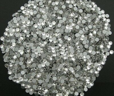 STRASS MC Stone collection 100pz SS4 1mm Cristallo crystal trasparente hotfix