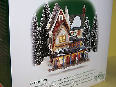 "Dept 56 ""the China Trader"" Dickens Village, Nib"