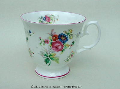 Royal Stafford Vintage 1950's Summer Flowers Pattern Tea Cups Only Look in VGC