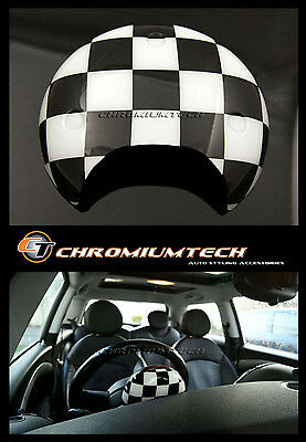 MINI Cooper/S/ONE R55 R56 R57 R58 R59 R60 R61 Chequered Flag Tachometer Cover