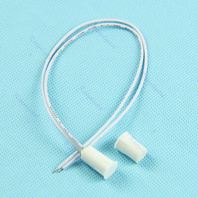 1/5/10pcs Recessed Magnetic Window Door Contacts Alarm  Security Reed Switch