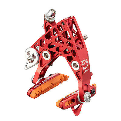 KCNC CB4 Road Bike Bicycle Cycling Brake-Hill Calipers Front & Rear Set - Red