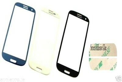 Samsung Galaxy Siii S3 I9300 Touch Screen Replacement Black White Blue Adhesive