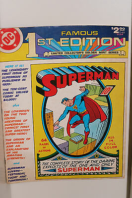 famous 1st edition Superman 1979 in great condition