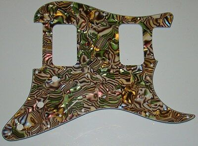 Stratocaster HH guitar pickguard 4ply abalone fits fender brand new