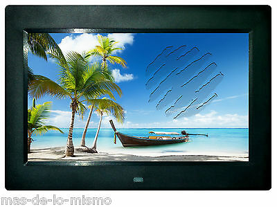 "Marco Digital Multimedia Brigmton BDF-101 LED 10"" 16:9 USB SD Audio Video y Foto"