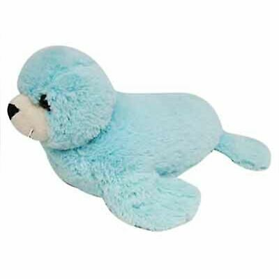 DINKI DI CUDDLES BLUE SEAL STUFFED ANIMAL PLUSH TOY 30cm **FREE DELIVERY**