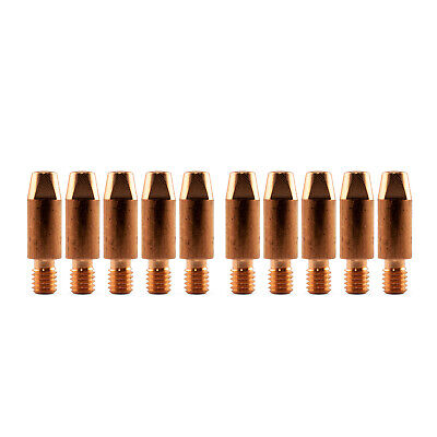 MIG Contact Tips for ALUMINIUM - 0.9mm Binzel Style - 10 pack - M6 x 8mm x 0.9mm