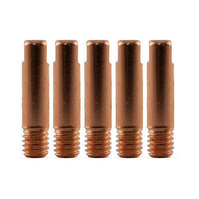 MIG Contact Tips for ALUMINIUM - 1.2mm Binzel Style - 5 pack - M6 x 6mm x 1.2mm