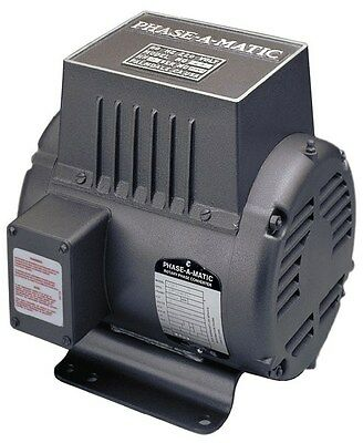 PHASE-A-MATIC R-7  ROTARY PHASE CONVERTER 7.5 HP - NEW!