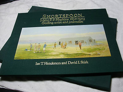 SHORTSPOON Major E P Hopkins 1830-1913 Golfing Artist & Journalist SIGNED 1/750