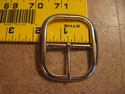 """1 1/2"""" Die Cast Middle Bar Buckle (Pack Of 5)"""