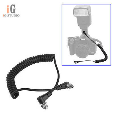 Male to Male FLASH PC Sync Cable Cord for YONGNUO RF-603