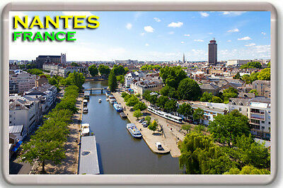 Nantes France Fridge Magnet Souvenir Iman Nevera