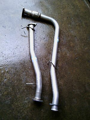 Land Rover Discovery 2 Td5 98 - 04 Sports Exhaust Performance De-Cat & Centre
