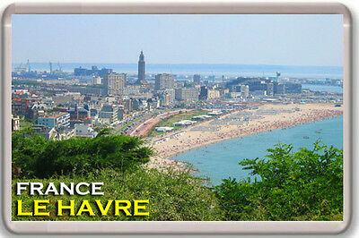 Le Havre France Fridge Magnet Souvenir Iman Nevera
