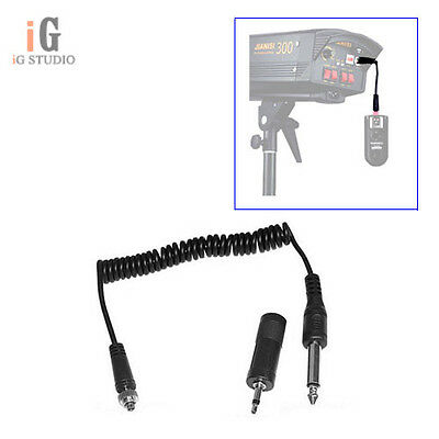 YONGNUO Connector /Sync Cable For Yongnuo RF603 YN-622 & Studio Flash /Strobes